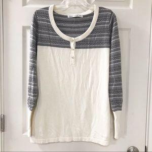Woolrich Nordic Design Henley Sweater